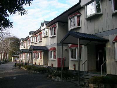 闲村欧式木屋外观